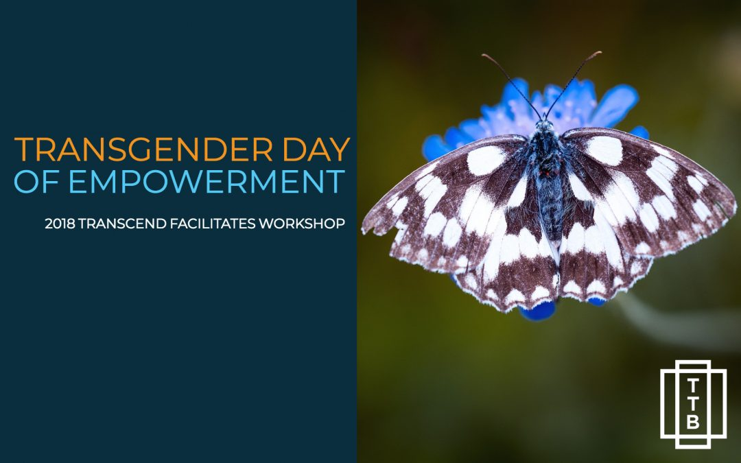 Transcend Facilitates Workshop at Transgender Day of Empowerment, 2018