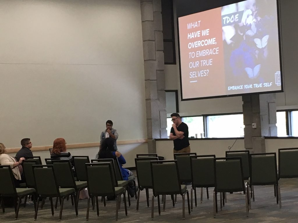 Presentation at Transgender Day of Empowerment